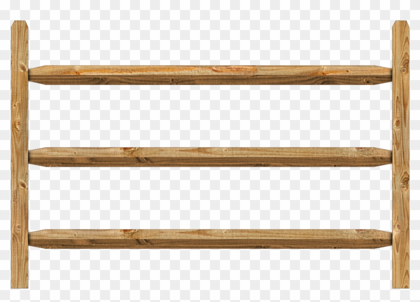 Wooden Railing Png, Transparent Png.