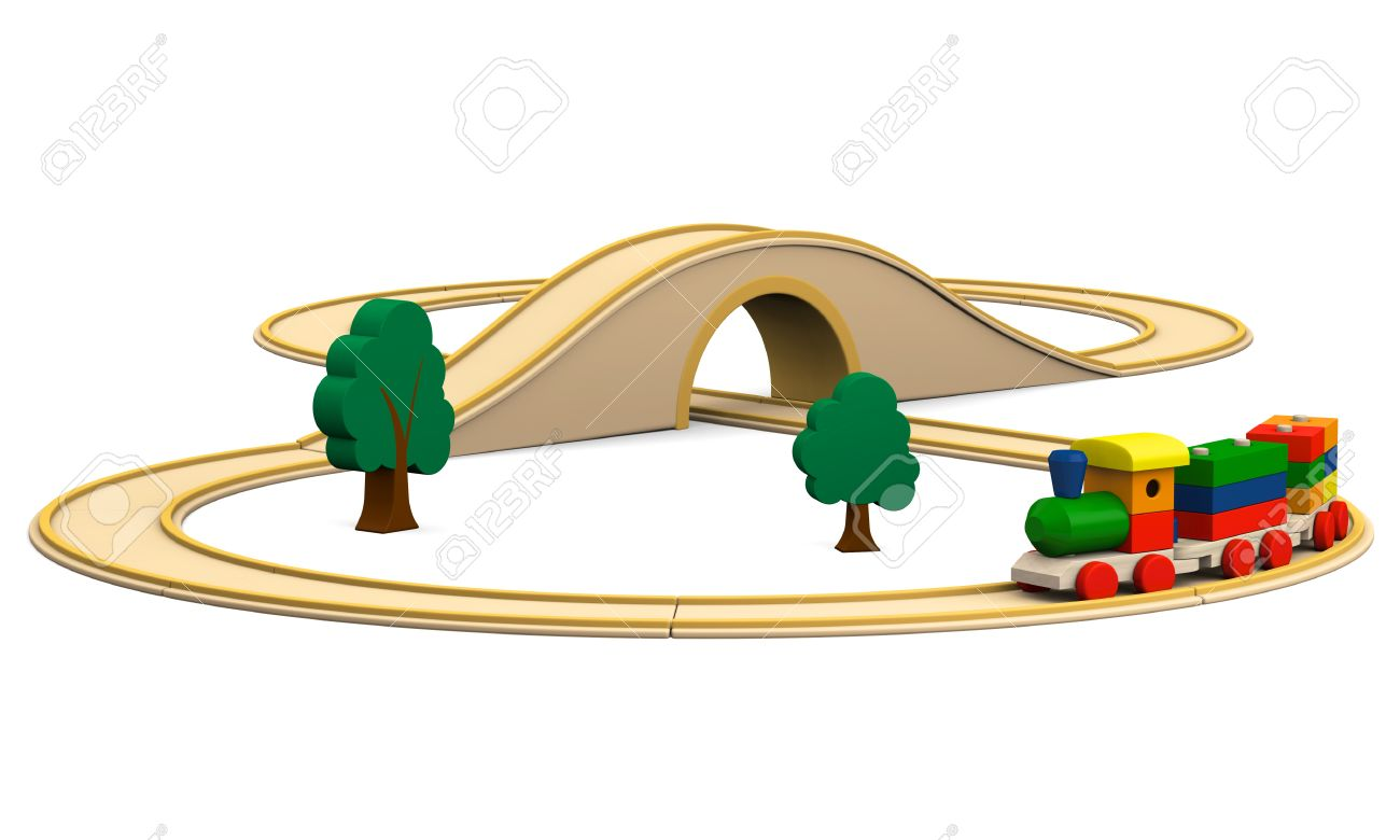762 Wooden Railway Stock Illustrations, Cliparts And Royalty Free.