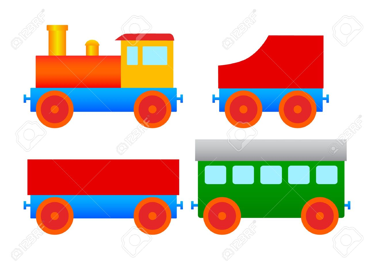 Toy Train Graphics : Wooden railway clipart clipground