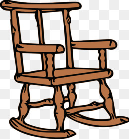 Wooden Rocking Chair PNG and Wooden Rocking Chair.