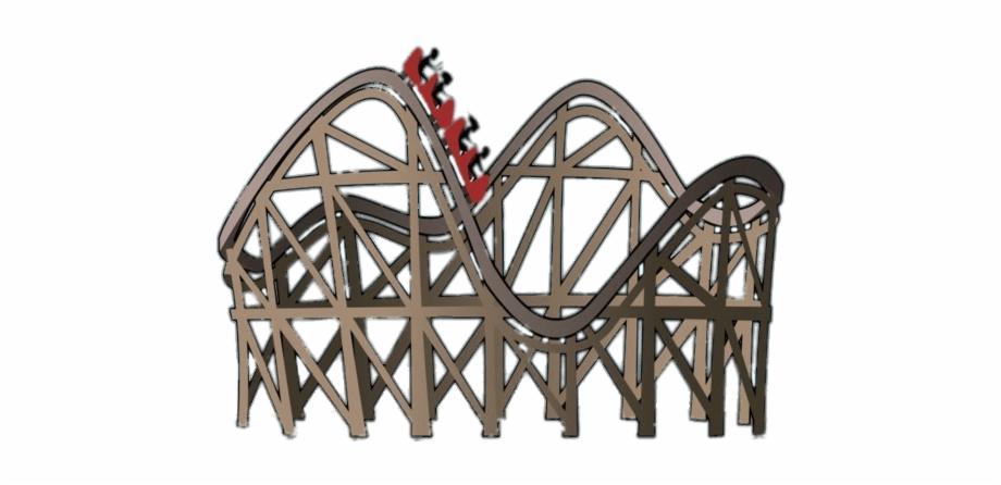 Miscellaneous Roller Coaster Cartoon Clip Art.