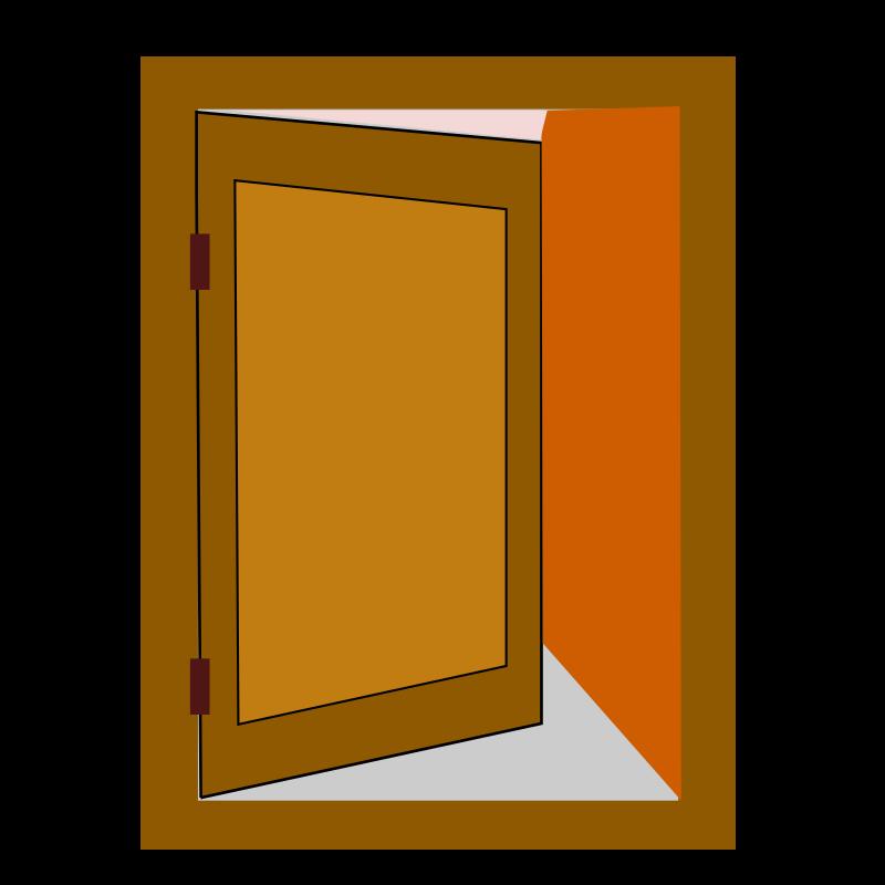 Door Cartoon Png Wooden Room Door Clip Art At Clker Vector.