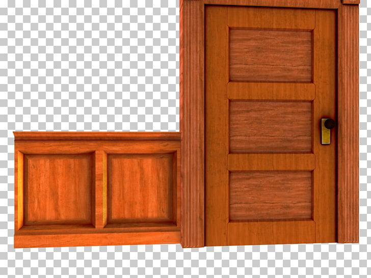 Door House Game Recreation room, wooden doors and windows.