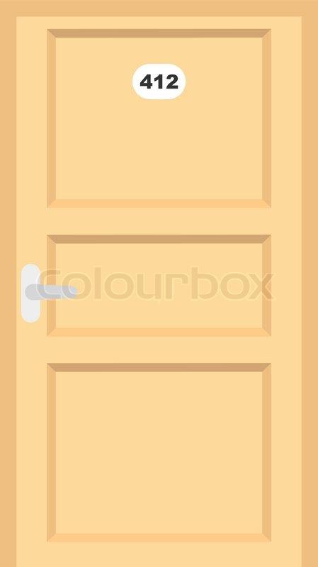 Room Door Clipart.