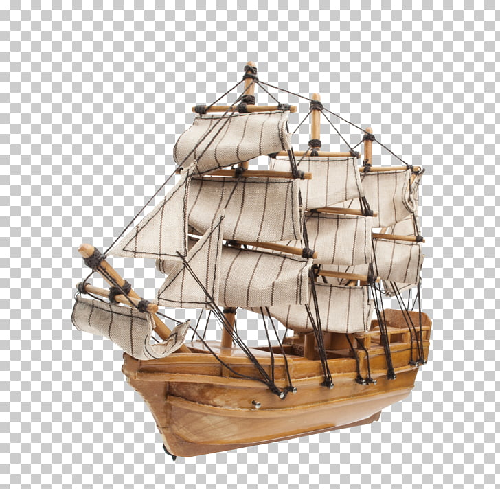 Sailing ship Watercraft Wooden ship model , Shipping PNG.