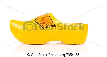 Clipart wooden shoes.