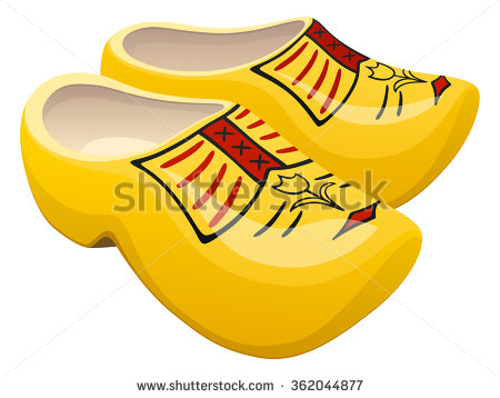 Wooden Shoes Stock Images, Royalty.