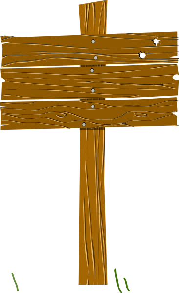 Wood Sign Clip Art at Clker.com.