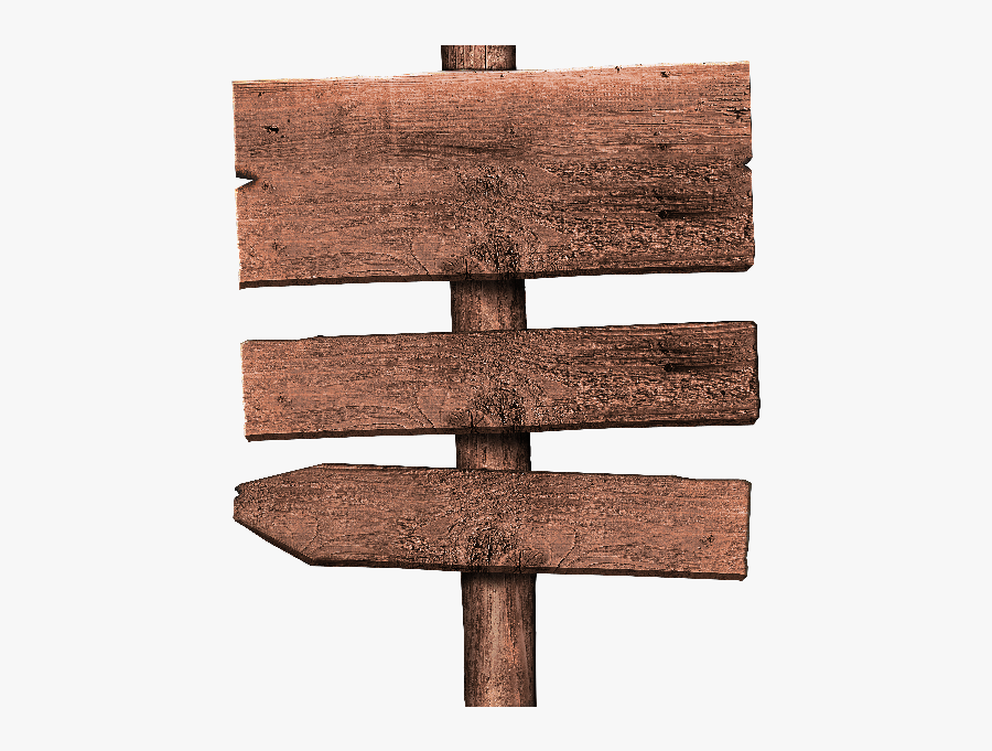 Free Rustic Wood Sign Png.