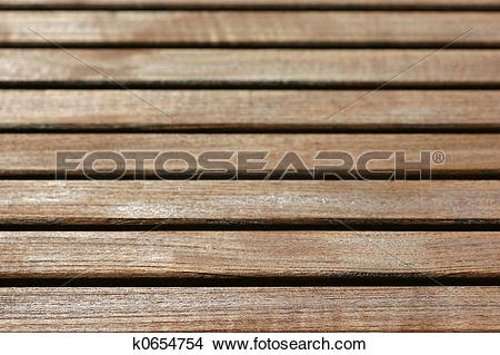 Stock Photo of wooden slats k0654754.