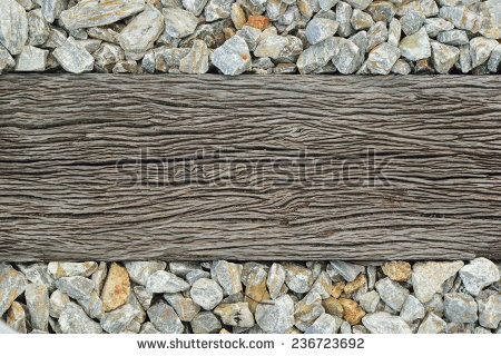 Railway Sleepers Stock Photos, Royalty.