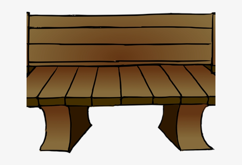 Sofa Clipart Wooden Sofa.