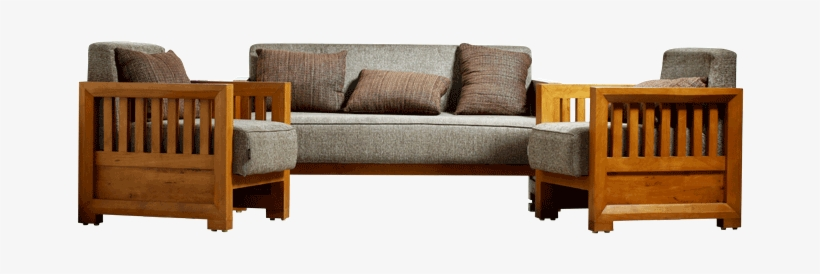 Castle Wooden Sofa Set.