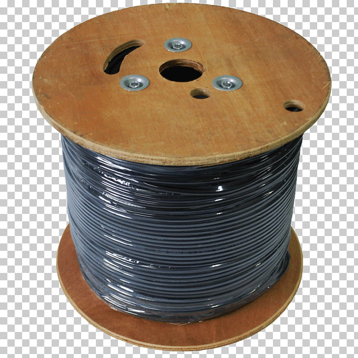 Cable reel Electrical cable Coaxial cable Copper conductor.