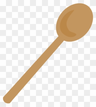 Free PNG Wooden Spoon Clip Art Download.