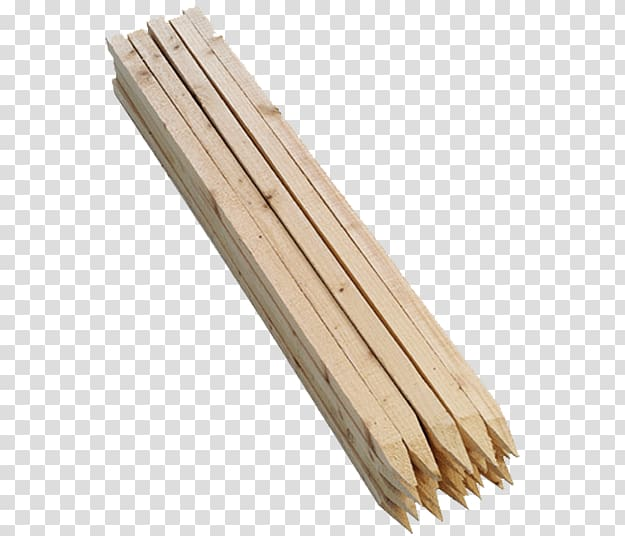 Survey stakes Plywood Garden Lumber, wood transparent.