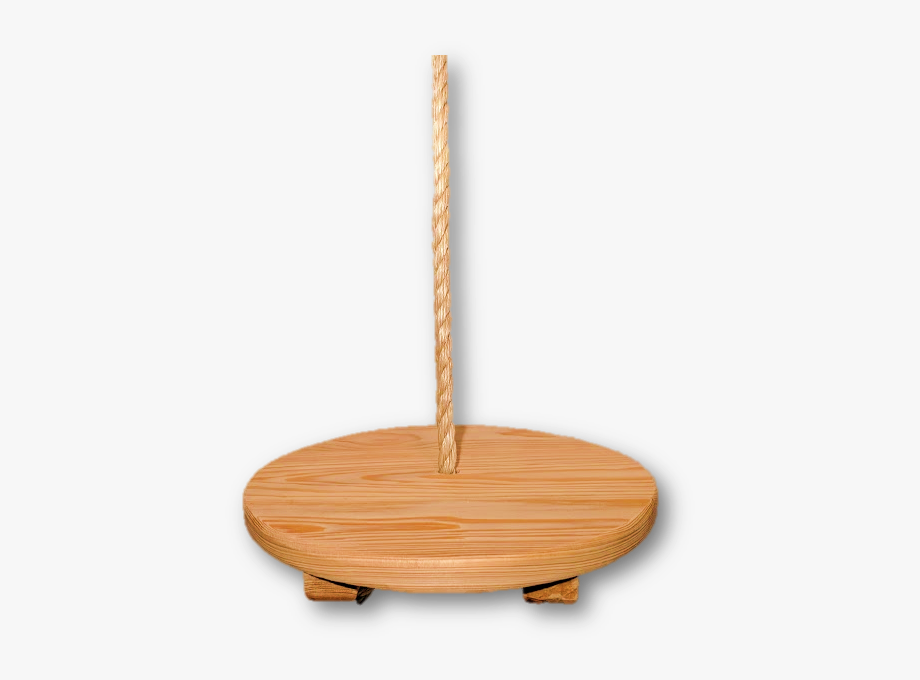 Disc Wood Swing Round.