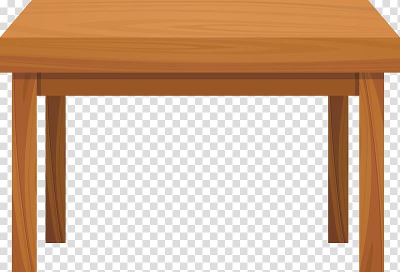 Table Wood , Tables, orange table illustration transparent.
