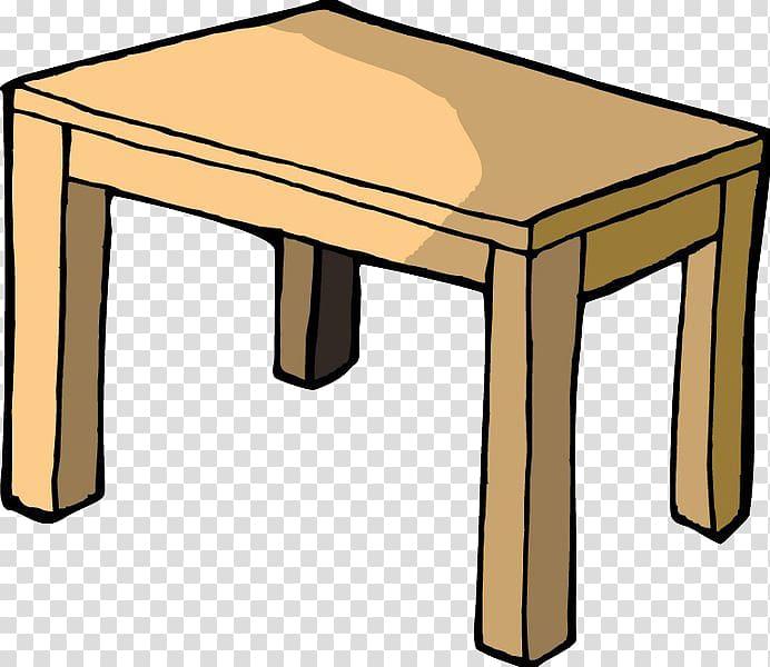 Rectangular table illustration, Table Cartoon Chair.