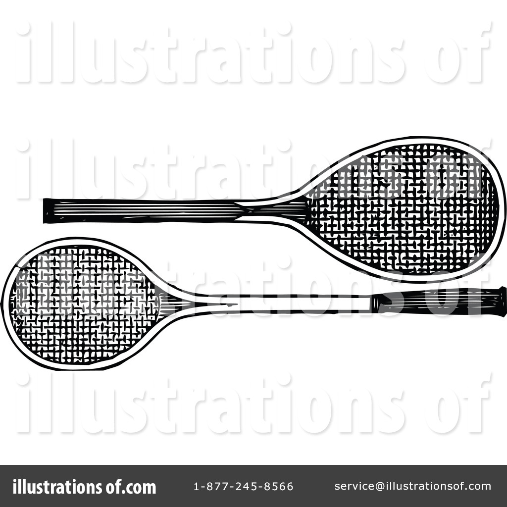 Tennis Racket Clipart #1115202.
