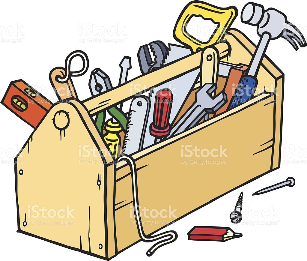 310 Toolbox free clipart.