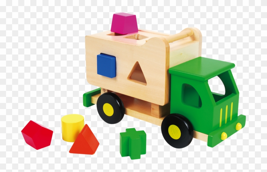 Educational Wooden Toy Trucks Clipart (#2043575).