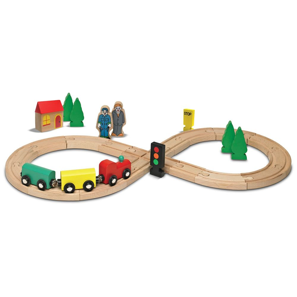 Wooden Train Set.
