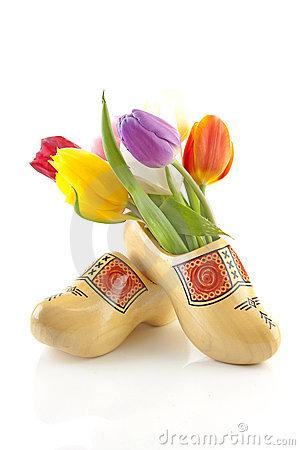 Dutch Shoes Clipart.