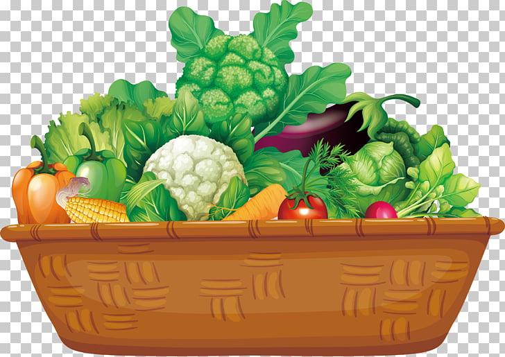 Organic food Vegetable Basket Fruit, Wooden basket of.