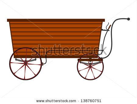 Wooden Cart Stock Photos, Royalty.