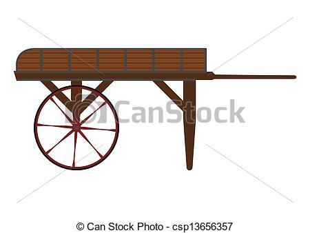 Wooden cart Vector Clip Art EPS Images. 736 Wooden cart clipart.