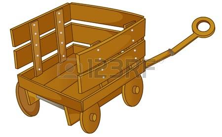1,115 Wooden Cart Stock Vector Illustration And Royalty Free.