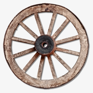 Free Wagon Wheel Clip Art with No Background.