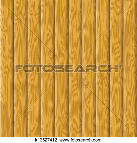 Clip Art of Wooden wall texture k13527412.
