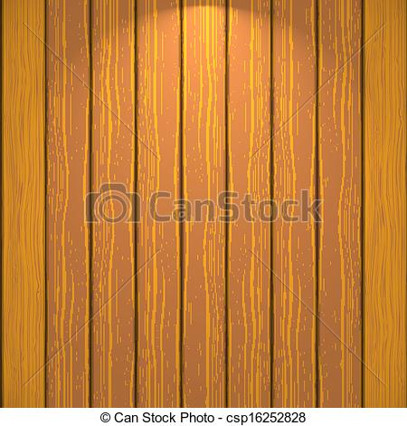 Vector Illustration of Wooden wall csp16252828.
