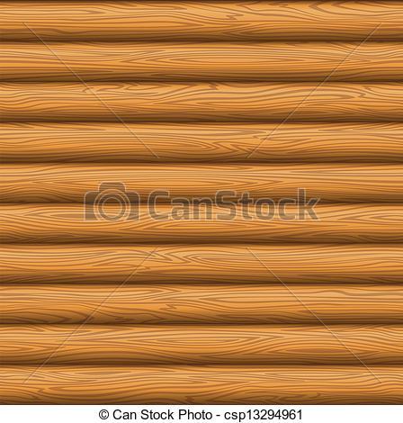 Clip Art Vector of Wooden wall texture.