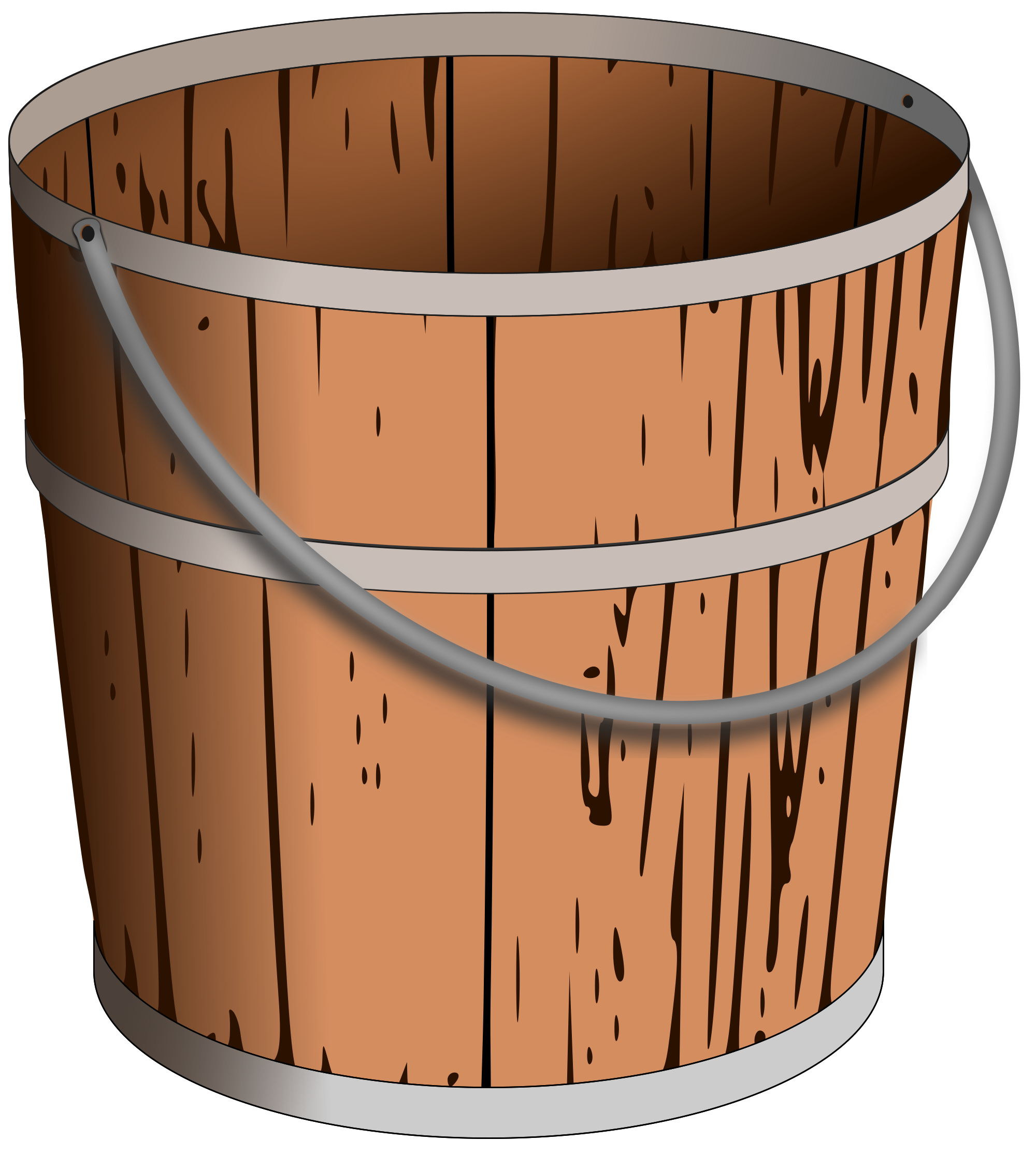 Water clipart bucket, Water bucket Transparent FREE for.