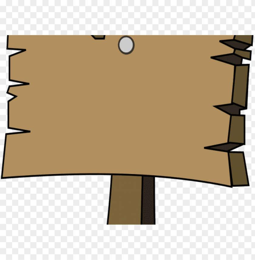 wood clipart blank welcome sign.