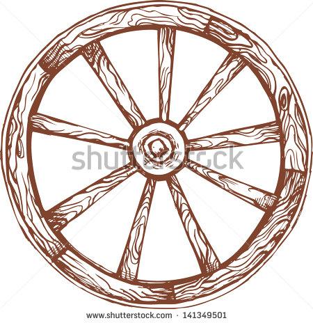Wooden Wheel Stock Photos, Royalty.