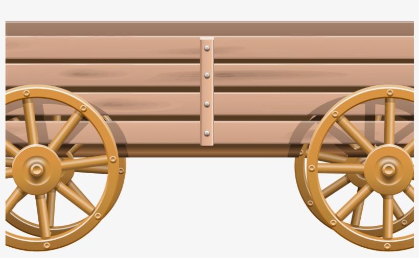 Cart Clipart Wooden Wheelbarrow.