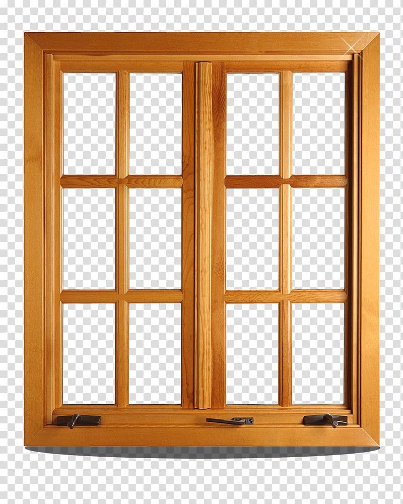 Window shutter Wood Chambranle, Brown wooden sliding doors.