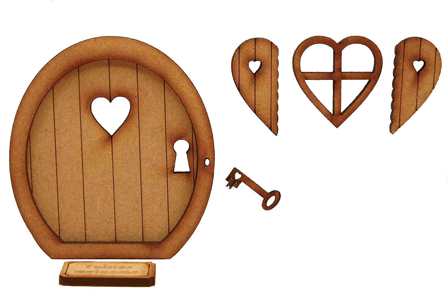 Amazon.com: Key to My Heart Fairy Door. Three.