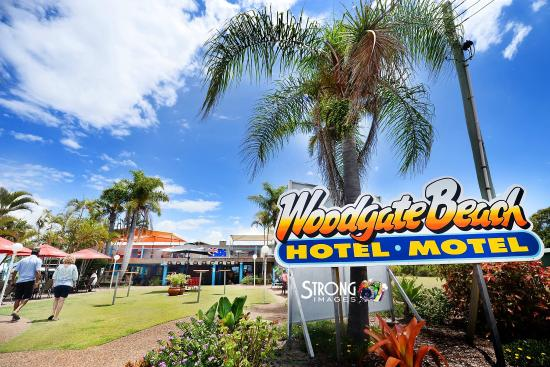 Woodgate Beach Hotel Motel.