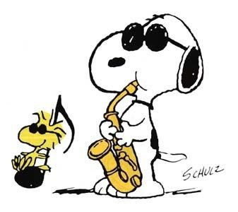 Snoopy & Woodhouse.