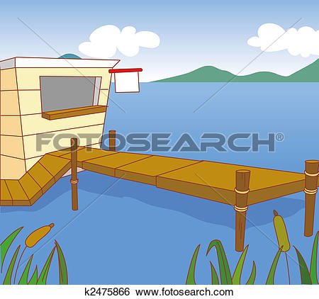 Stock Illustration of an woodhouse k2475866.