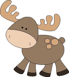 Woodland clipart moose, Woodland moose Transparent FREE for.