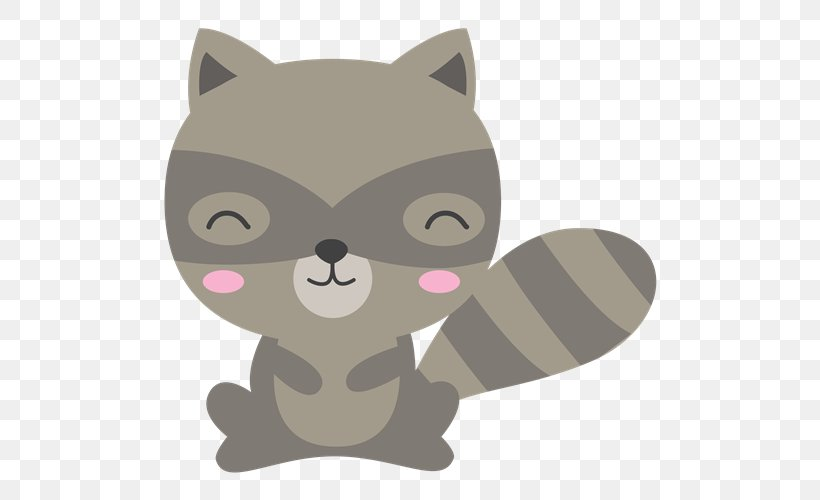 Cat Woodland And Forest Animals Raccoon Clip Art, PNG.