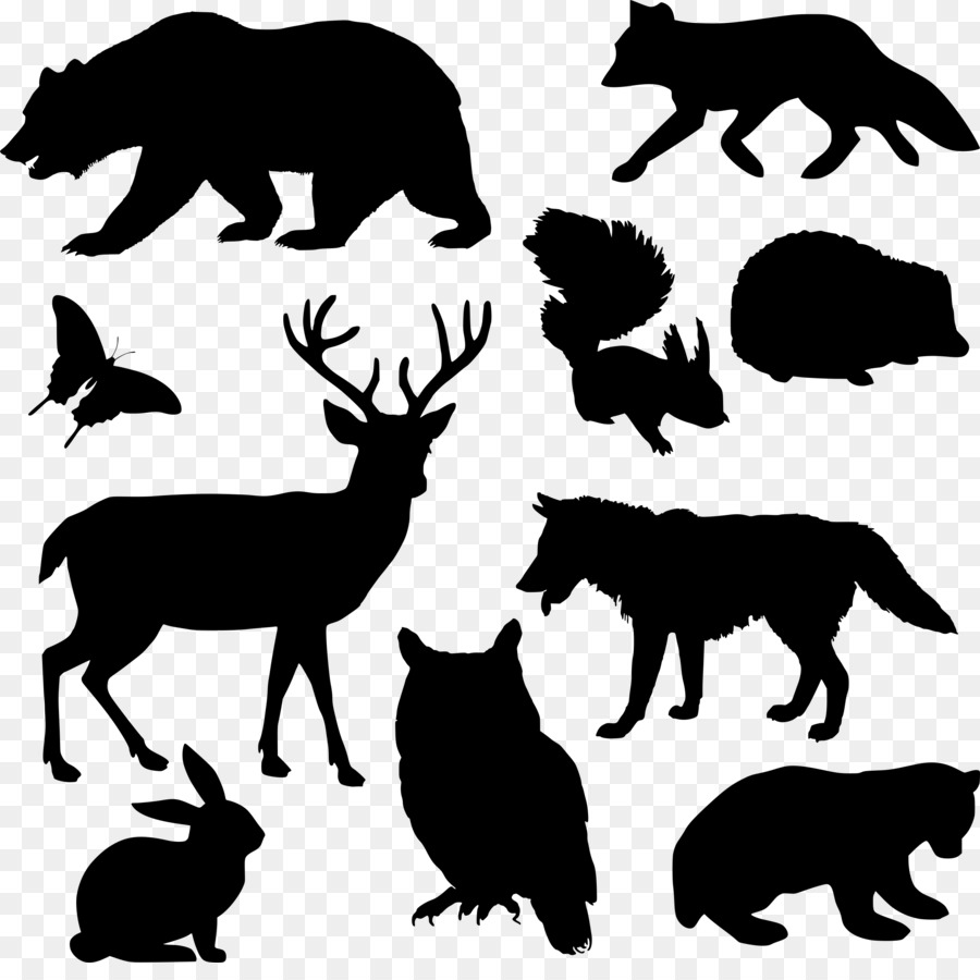 Woodland and Forest Animals Baby shower Moose Clip art.