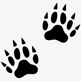 Animal Footprints Clipart.