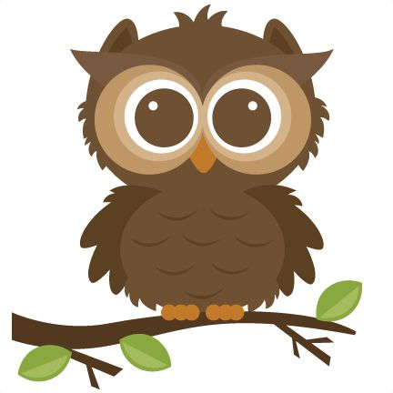 Forrest Owl SVG cut file for scrapbooking forrest animals.